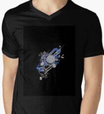 Retro Vector Men's V-Neck T-Shirt