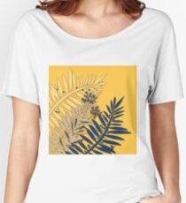 Grass field, grass, flowers Women's Relaxed Fit T-Shirt