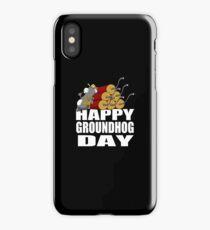 Happy Groundhog Day Shirt iPhone Case
