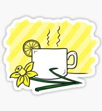 Lemon Tea Sticker