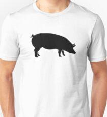 Black pig Unisex T-Shirt