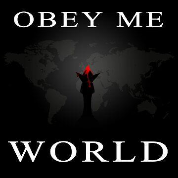 Obey Me World by 3cod3
