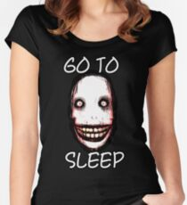 Jeff The Killer Women's Fitted Scoop T-Shirt
