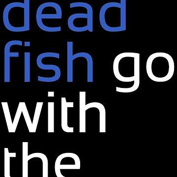 Dead Fish white/blue by m4x1mu5