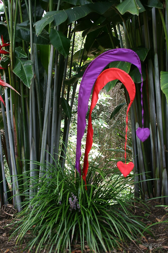 Valentine in the garden by agypsyk