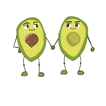Avocad-bros by JoshCooper