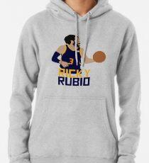 Sudadera con capucha Ricky Rubio Utah Jazz