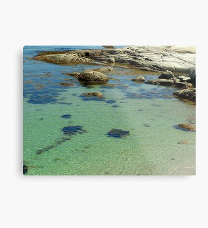 Ripples in the Tide Metal Print