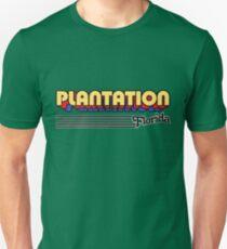Plantation, Florida | Retro Stripes Unisex T-Shirt