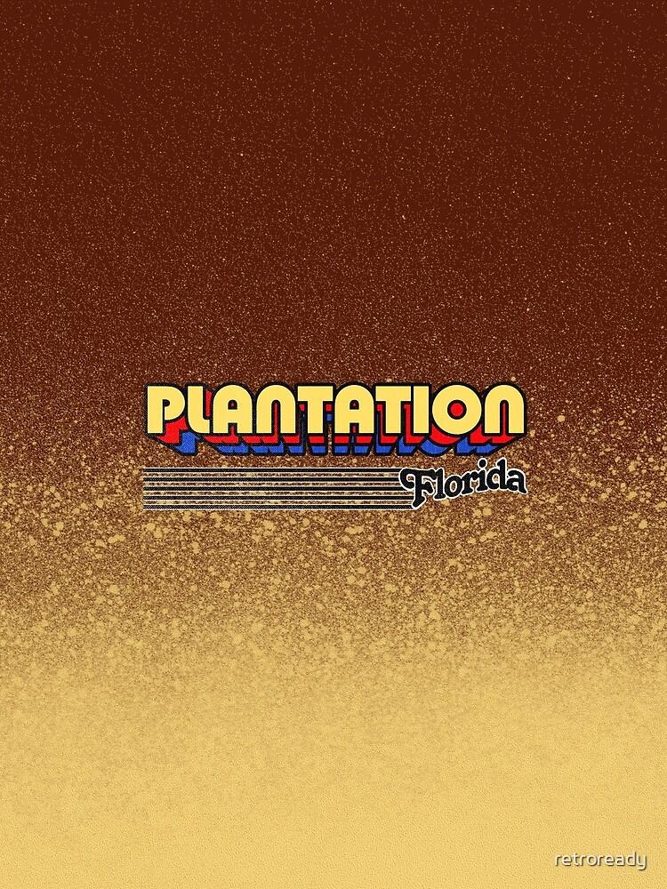 Plantation, Florida   Retro Stripes by retroready