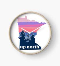 Reloj Puesta de sol del norte de Minnesota