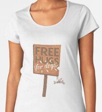 Free Hugs For Dogs T-Shirt Women's Premium T-Shirt