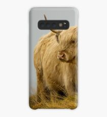 Hairy Coo 1 Case/Skin for Samsung Galaxy