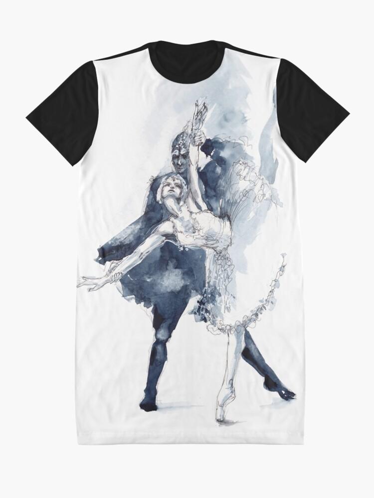 Alternative Ansicht von Ballett T-Shirt Kleid