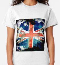 Extreme Grunge Union Jack Flag Classic T-Shirt