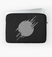 ABshapes in a disc (w) Laptop Sleeve