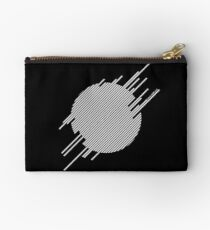 ABshapes in a disc (w) Studio Pouch