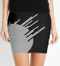 ABshapes in a disc (w) Mini Skirt