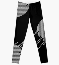 ABshapes in a disc (w) Leggings
