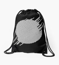 ABshapes in a disc (w) Drawstring Bag