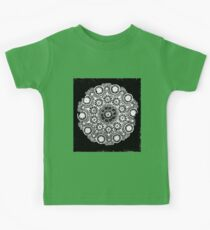 Doily Joy Mandala- Simply B/W Kids Clothes
