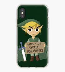 Auf der Suche nach Arbeit - Die Legende von Zelda iPhone-Hülle & Cover