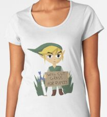 Looking For Work - Legend of Zelda Women's Premium T-Shirt