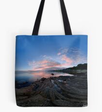 Dusk Shoreline near Moville, Donegal (Rectangular) Tote Bag