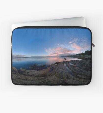 Dusk Shoreline near Moville, Donegal (Rectangular) Laptop Sleeve