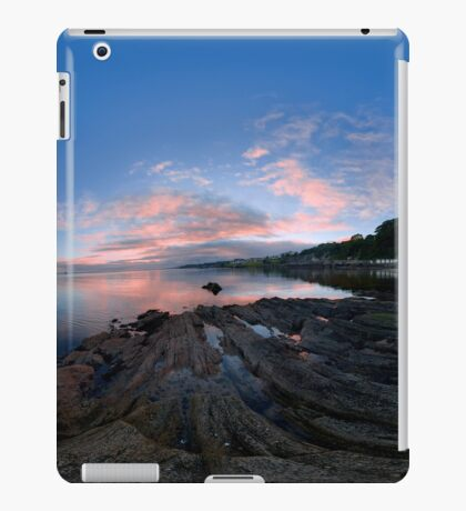 Dusk Shoreline near Moville, Donegal (Rectangular) iPad Case/Skin