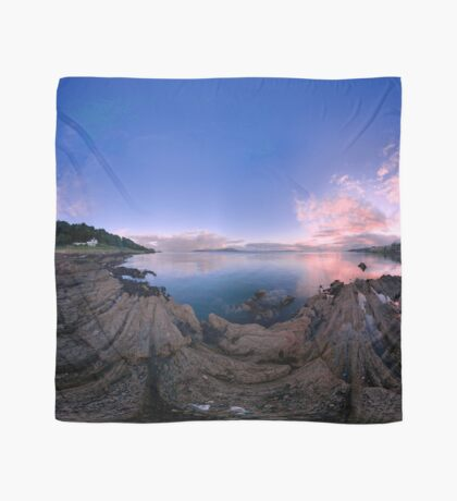 Dusk Shoreline near Moville, Donegal (Rectangular) Scarf