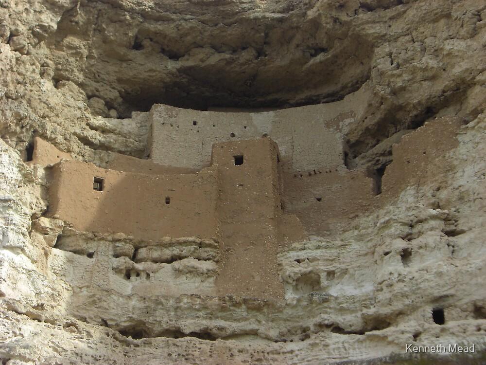 Montezuma Castle, Arizona by Kenneth Mead