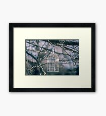 Empty Blue. Framed Print