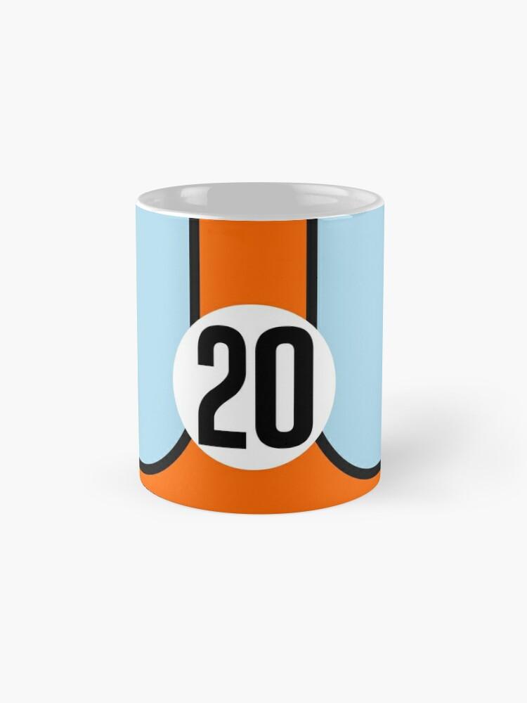 Alternative Ansicht von Racing Farben GULF 20 Tassen
