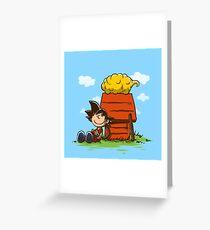 Peanuts Z Greeting Card