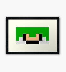 THE GIF PIXELATED  Framed Print