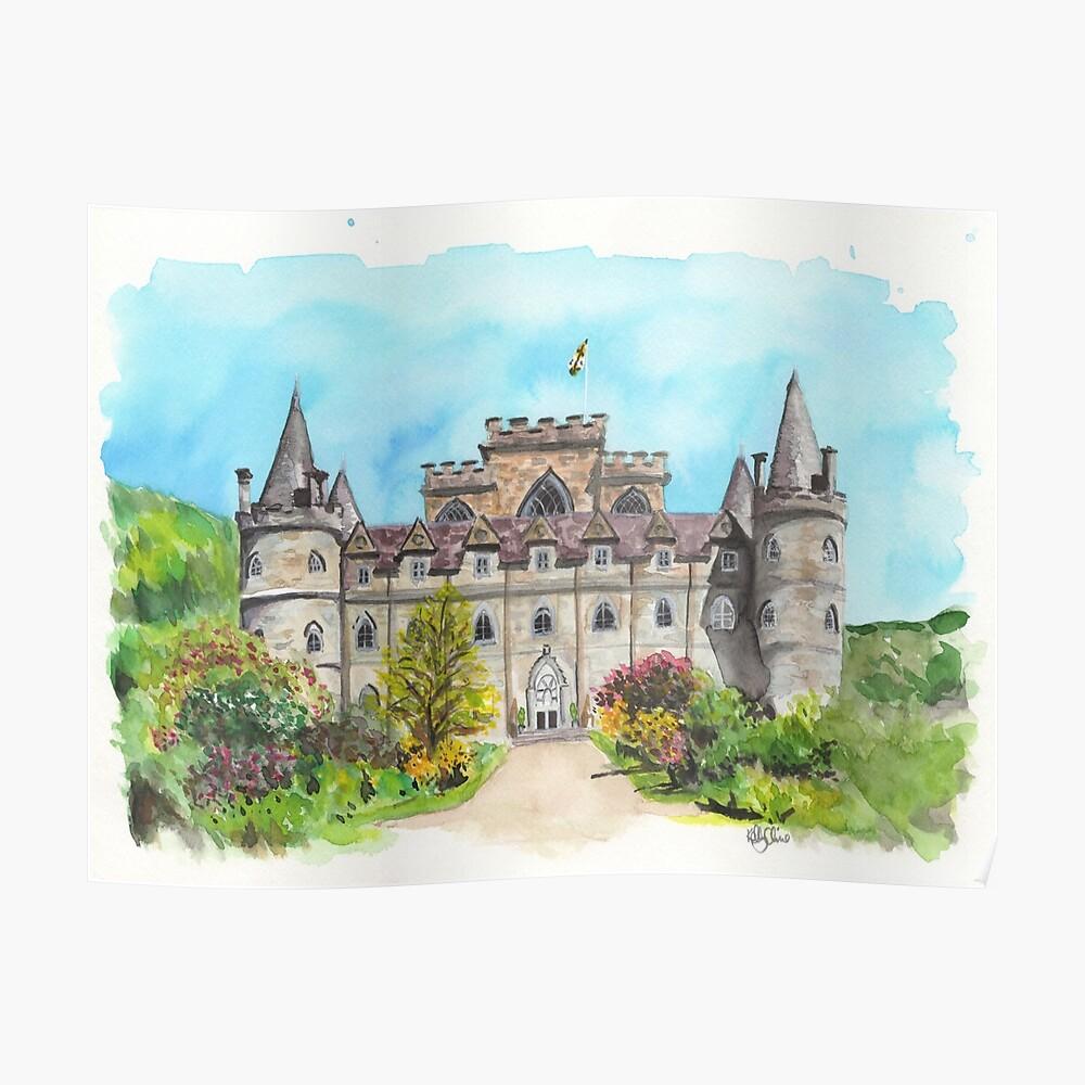 Castillo de Inveraray Póster