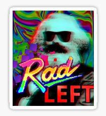 Rad Left Karl Marx Sticker