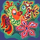 Fishes in love. by Tatyana Binovskaya