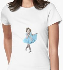 Shirley Temple Frills Women's Fitted T-Shirt