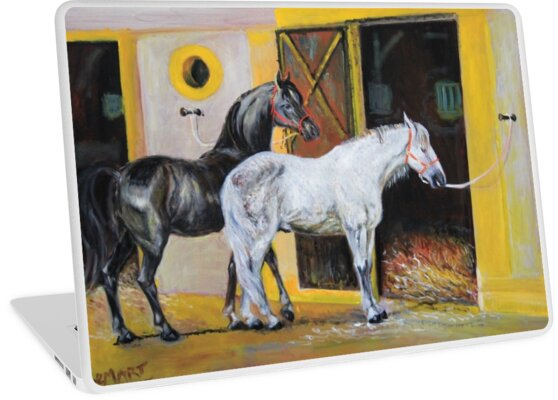 Andalusian horses  by Gerard Mignot