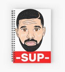 SUP- Mannerly 6 World I Phone Graphic Design Spiral Notebook