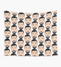 6 MAN I PHONE DESIGN- It's Too LATE The 6 Aint Friendly I Phone Graphic Design Wall Tapestry
