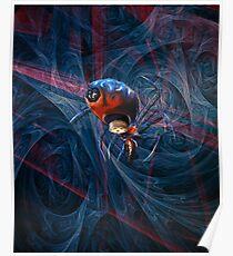 Spinnenkuchen Poster