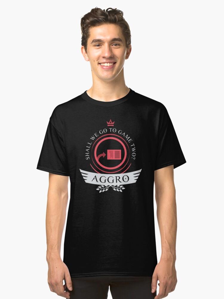Aggro Life V2 Classic T-Shirt Front