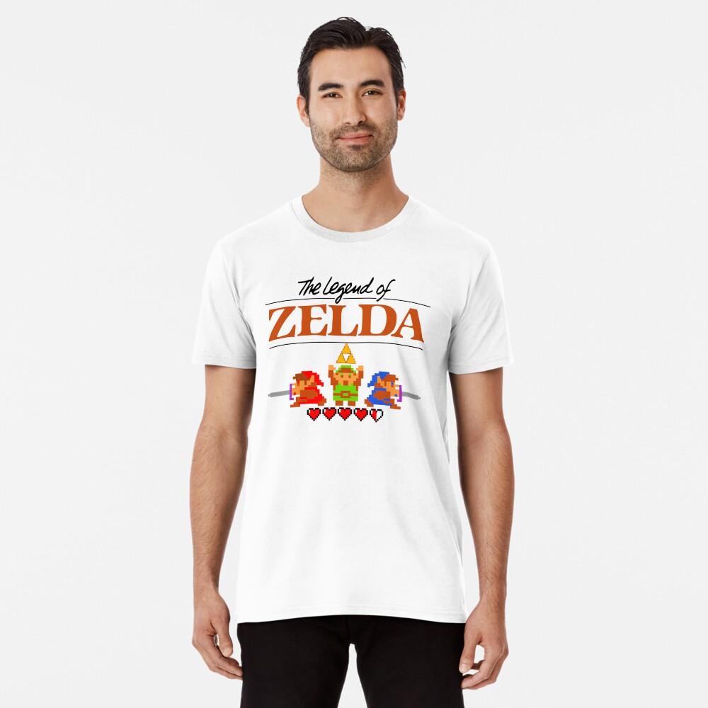 Die Legende von Zelda Ocarina der Zeit 8 Bit Premium T-Shirt