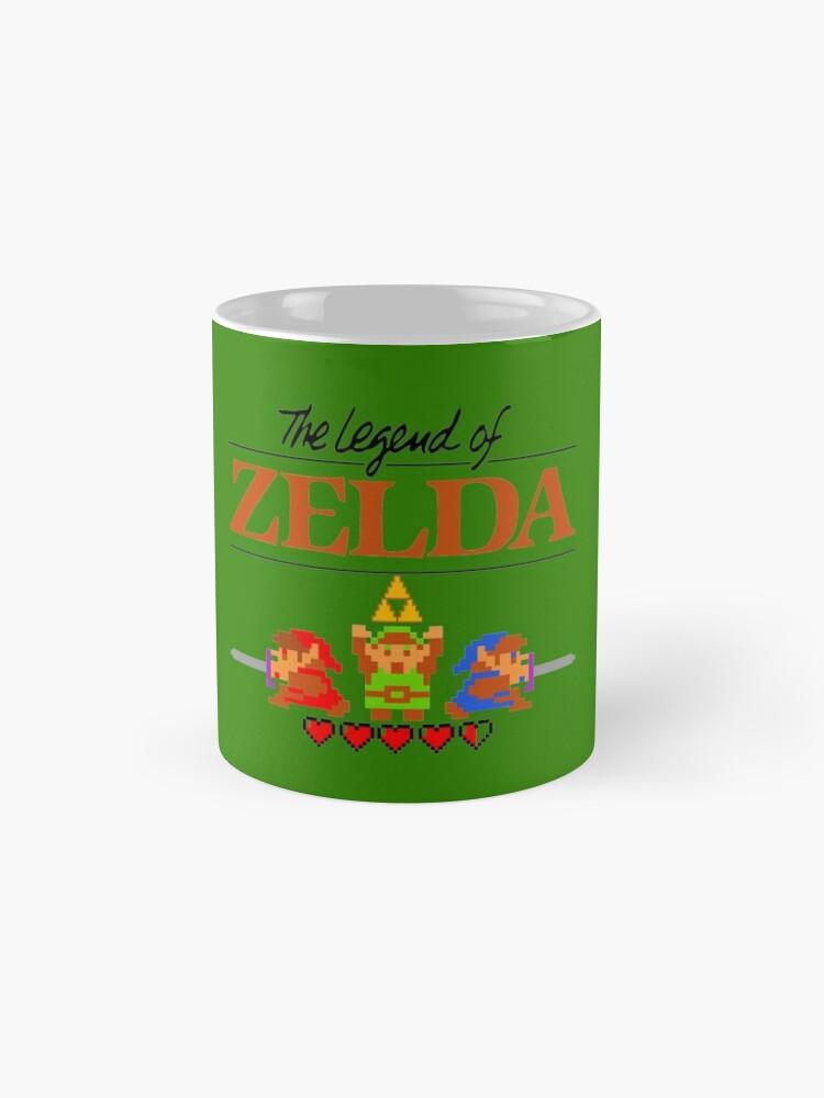 Alternative Ansicht von Die Legende von Zelda Ocarina der Zeit 8 Bit Tassen