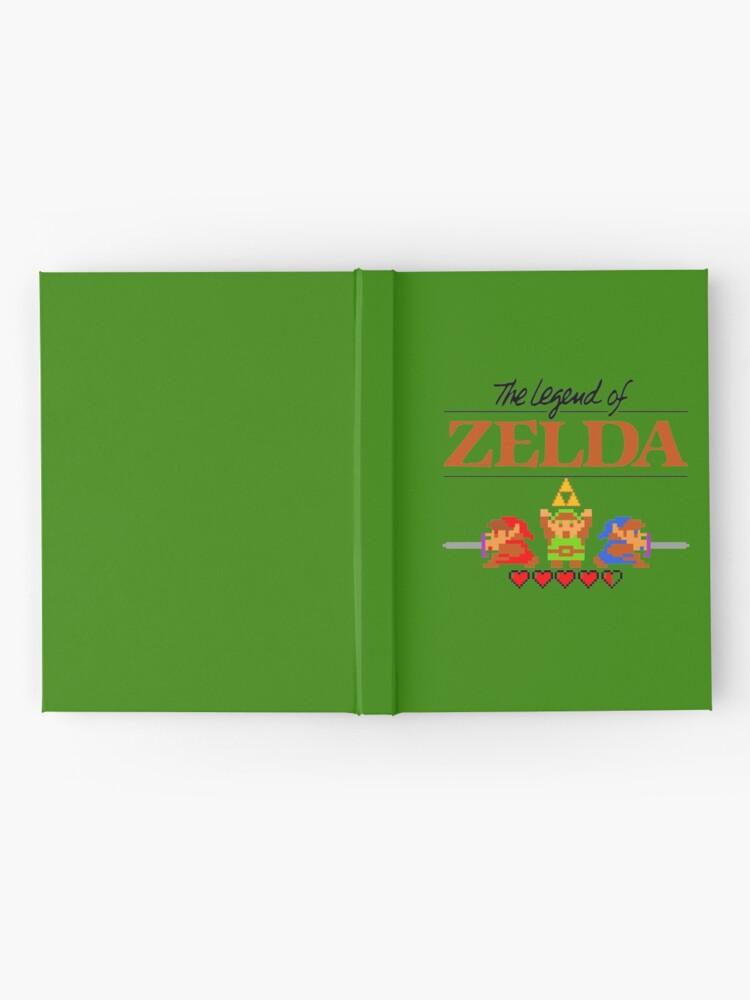 Alternative Ansicht von Die Legende von Zelda Ocarina der Zeit 8 Bit Notizbuch