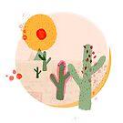 Cute Cactus Desert Motif by What-Katy-Loved