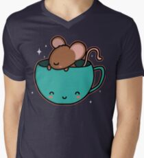Teacup Mouse Men's V-Neck T-Shirt